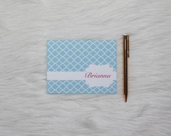 Personalized Stationery-DIamond Pattern