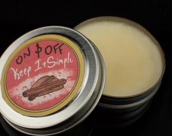Vegan Cinnamon Solid Perfume/Sample 0.5oz