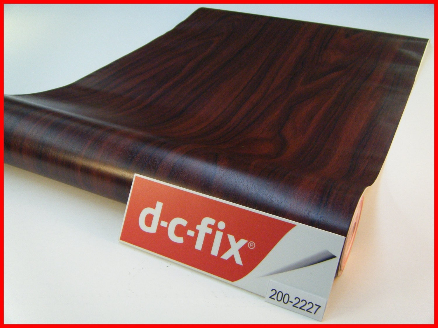 Dc fix wood grain 1m x 45cm design sticky back self adhesive - Dc fix tischdecken ...