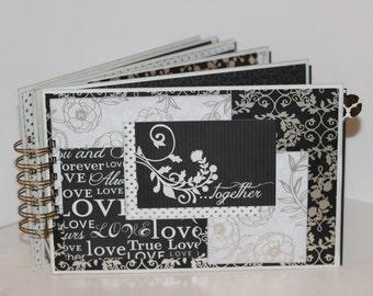 Wedding Scrapbook Mini-Album, Envelope Style Mini-Album