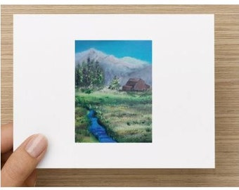 Stationery-Mountains/Outdoor Notecards