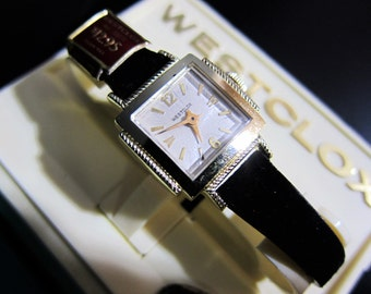 "Westclox ""Coquette"" Model 30071 Ladies Mechanical Wrist Watch NOS 1962"