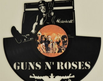 Guns N Roses Slash Record Wall Art
