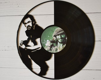 Bruce Springsteen Vinyl Record Wall Art