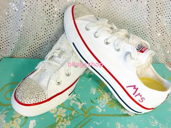 Blinged Swarovski Converse Shoes Crystallized Chuck by Blingsshop chic c0458d541