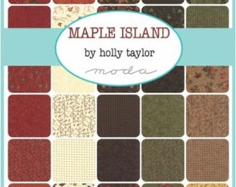Layer Cake Maple Island by Holly Taylor for Moda Fabrics (6610LC)
