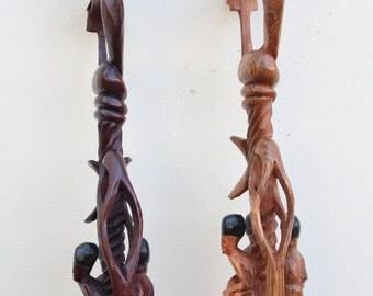 Nyami Nyami walking stick