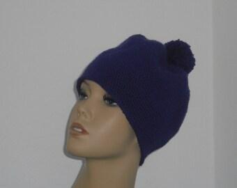 Hat - crochet Hat - wool hat - Beanie - Bobble Hat - winter accessories - women