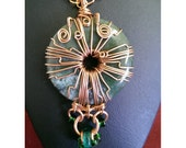 Wire Wrapped Copper and B...