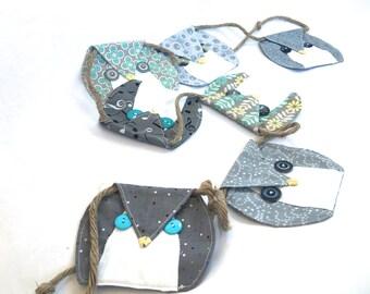 Owl Banner- Owl Decor - Owl Bunting - Kids Room Decor - Owl Garland -Nursery Decor