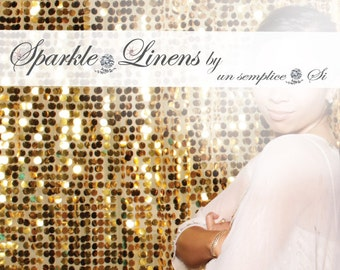 Wedding Table Backdrop, Backdrop Swag, Sequin Background,  FAST SHIPPING !
