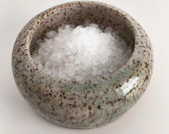 Speckled Dipped Salt Cellar