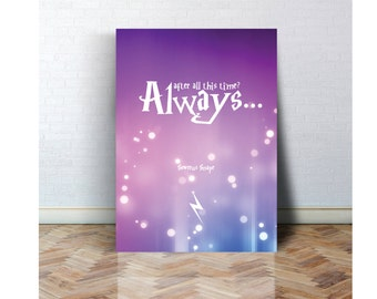 Always 2 - Harry Potter Print