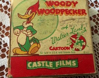 """Castle Films Woody Woodpecker """"Ace in the Hole"""""""