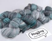 Aran Organic Merino Yarn - Teal Mist