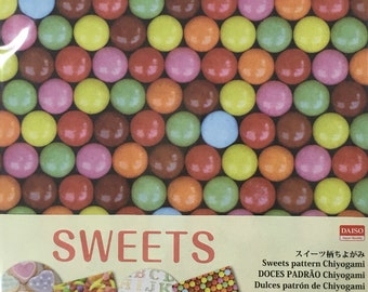 Sweets Origami Paper