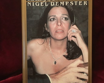 """1989 Heiress """"The Story of Christina Onassis"""" by Nigel Dempster"""