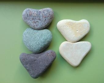 Heart stones beach pottery hearts , heart shaped stones , beach pottery hearts , sea pottery hearts , love heart stones , stone hearts