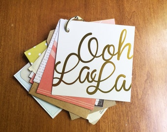 Oh La La Mini Book: Journal