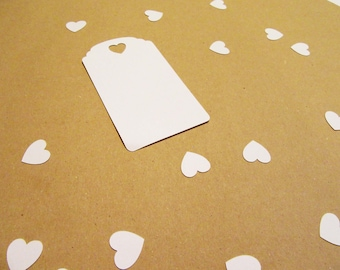 Favor Tags | Hearts | set of 10