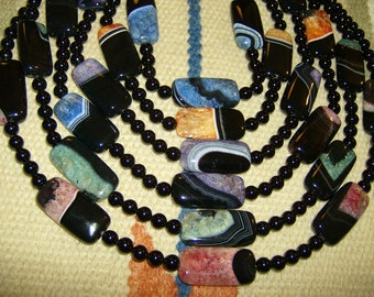 Big, Gorgeous Agate Necklaces
