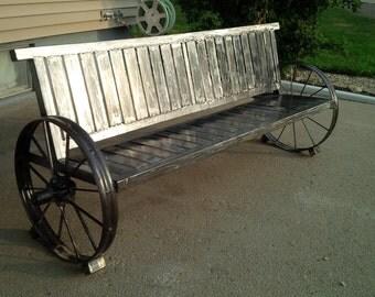 Custom Metal Outdoor Rocking Bench