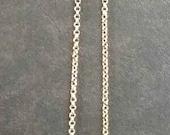 18K yellow gold 16 inch chain