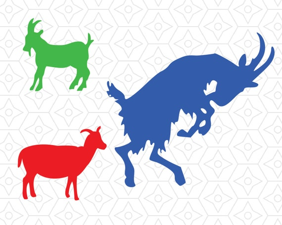 Download Billy Goat Vector Collection, SVG, DXF and EPS Vector ...