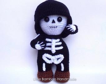 PATTERN-Mr.Skeleton-Crochet Pattern, pdf