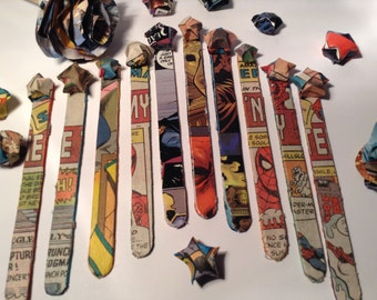 Comic Book Bookmarks