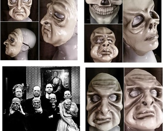 Gray and Black Twilight Zone Masks: Complete Set