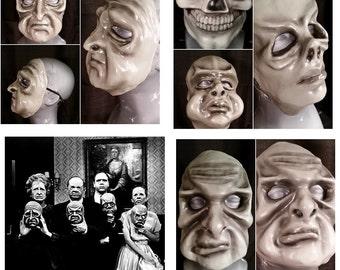 Greyscale Twilight Zone Masks: Complete Set