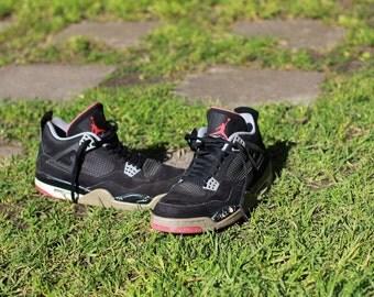 very rare AIR JORDANS IV original release sneakers