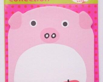 Memo funny pig