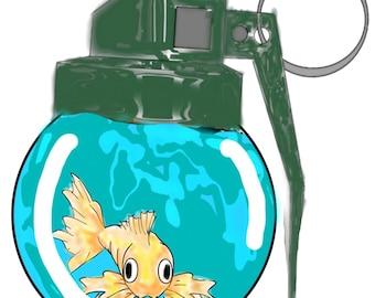 Goldfish grenade