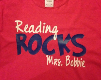 Reading Rocks shirt
