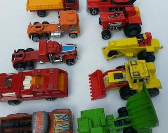 vintage Matchbox, Tomica, Hot Wheels, lot of matchbox, Truck collection