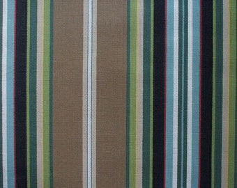 Duvet Cover Carlton Stripe Walnut, Reversible