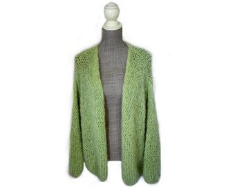 Knitted Mohair Vest (Bernadette Vest)