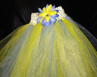 Yellow/blue tutu