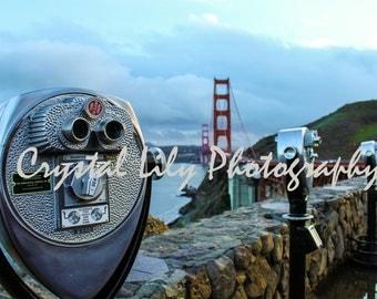 Golden Gate Lookout Print