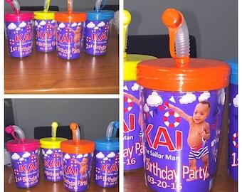 Custom Straw Cups