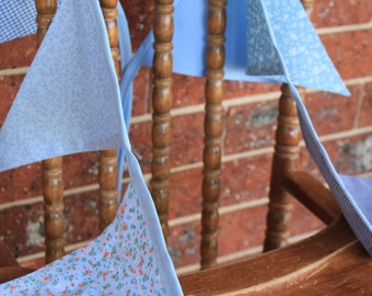 3m Moody Blues Double Sided Bunting