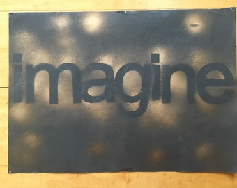 Imagine.- Home Decor, Poster