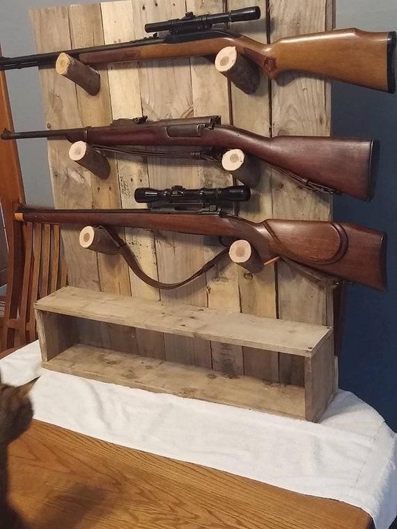 Rustic Gun Rack Gun Display
