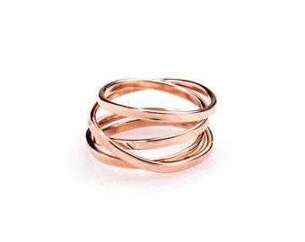 Demi - Rose Gold Ring