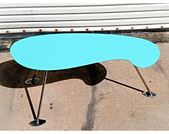 atomic coffee table | etsy
