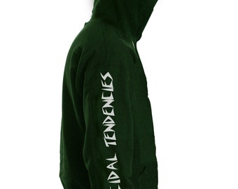 SUICIDAL ST LOGO, skater urban street wear cool graphic Mens Hoody, Hooded top HM1495