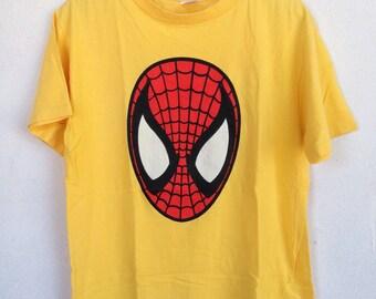 Rare vintage Spiderman marvel 90s tshirt L