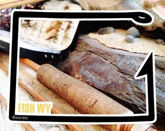 Fish Wyoming Sticker - Idahook Series